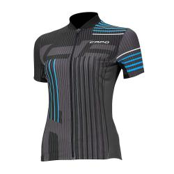 Capo Women's SC Donna Jersey - Small - Black / Cyan