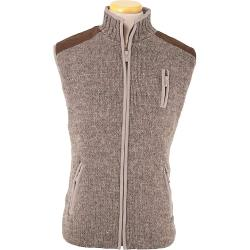 Laundromat Men's Yale Fleece Lined Vest - Large - Medium Natural