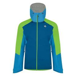 Dare 2B Men's Aline Jacket - Medium - Petrol Blue / Jasmine Green