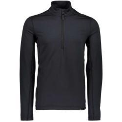 Obermeyer Men's Lean 1/2 Zip Baselayer Top - Medium - Black