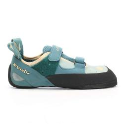 Evolv Women's Elektra Climbing Shoe - 5.5 - Jade / Seapine
