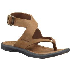 Columbia Women's Caprizee Sandal - 6 - Elk / Dark Grey