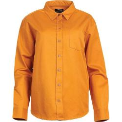 United By Blue Women's Cottonwood Canvas Button Down Shirt - Small - Sienna