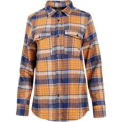 United By Blue Women's Fremount Flannel Button Down Shirt - Small - Sienna