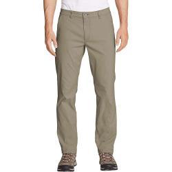 Eddie Bauer Travex Men's Horizon Guide Slim Fit Chino Pant - 33 / 32 - Light Khaki