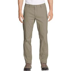Eddie Bauer Travex Men's Horizon Guide Slim Fit Chino Pant - 34 / 30 - Light Khaki
