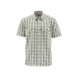 Simms Men's Big Sky SS Shirt - Small - Sagebrush Plaid