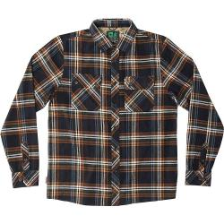 HippyTree Men's Signal Flannel - Small - Black