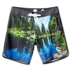 KAVU Men's Go Big 9 Inch Board Short - Medium - Swim Hole