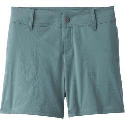 Prana Women's Revenna 5IN Short - 12 - Starling Green