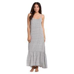 Billabong Women's Wave Chaser Maxi Dress - Large - Black / White