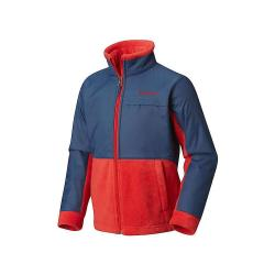 Columbia Youth Boys' Steens MT Overlay Jacket - XL - Red Spark / Dark Mountain