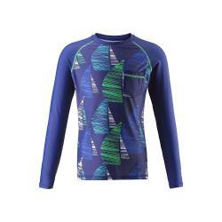 Reima Kid's Bay Swim Shirt - 8 y - Navy Blue