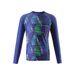Reima Kid's Bay Swim Shirt - 9 y - Navy Blue