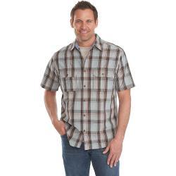 Woolrich Men's Midway Yarn-Dye Shirt - Small - Costal Grey