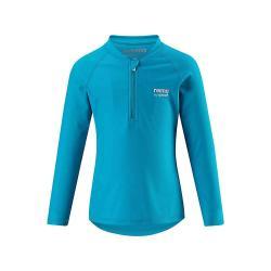 Reima Kid's Solomon Swim Shirt - 8 y - Turquoise