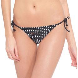 Lole Women's Tropical Bikini Bottom - Small - Black Textured Stripe