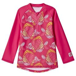 Reima Toddler Tuvalu Swim Shirt - 9-12 m - Candy Pink