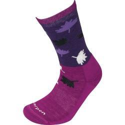 Lorpen Women's Light Hiker Sock - Medium - Plum/Berry