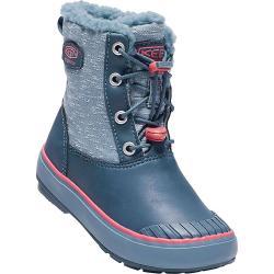 Keen Kids' Elsa Waterproof Boot - 10 - Captains Blue / Sugar Coral