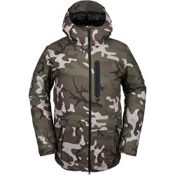 Volcom Men's Deadlystones Insulated Jacket - XL - Gi Camo