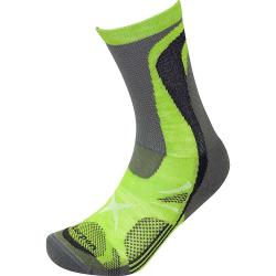 Lorpen T3 Nordic Ski Light Sock - XL - Green Lime