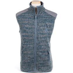 Laundromat Men's Yale Fleece Lined Vest - Large - Dusk