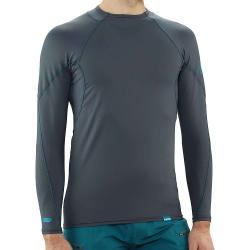 NRS Men's H2Core Rashguard LS Shirt - XL - Dark Shadow