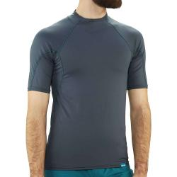 NRS Men's H2Core Rashguard SS Shirt - XXL - Dark Shadow