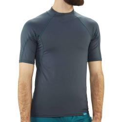 NRS Men's H2Core Rashguard SS Shirt - Large - Dark Shadow