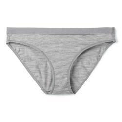 Smartwool Women's Merino 150 Bikini - Large - Light Grey Heather