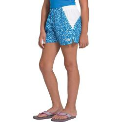 The North Face Girls' Class V Water 3 Inch Short - Medium - Clear Lake Blue Flashito Print