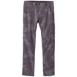 Prana Men's Stretch Zion Straight Pant - 32x34 - Gravel Camo