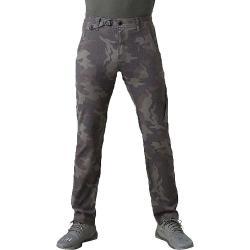 Prana Men's Stretch Zion Straight Pant - 35x30 - Gravel Camo