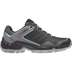 Adidas Women's Terrex Entry Hiker Shoe - 9 - Grey Four / Black / Clear Mint