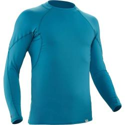 NRS Men's H2Core Rashguard LS Shirt - Medium - Fjord