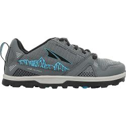 Altra Kid's Lone Peak Shoe - 13 - Gray / Blue