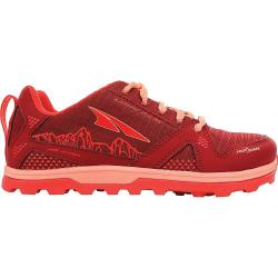 Altra Kid's Lone Peak Shoe - 3 - Poppy