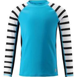 Reima Kid's Madagaskar Swim Shirt - 8Y - Cyan Blue