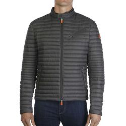 Save The Duck Men's Lightweight 3-Pocket Jacket - XL - Charcoal Grey