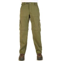 Prana Men's Stretch Zion Convertible Pant - 28x34 - Cargo Green