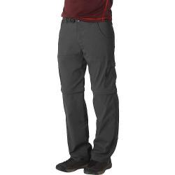 Prana Men's Stretch Zion Convertible Pant - 28x30 - Charcoal