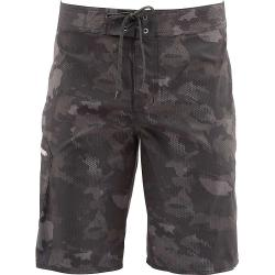 Simms Men's Tumunu Board Short - 38W - Hex Flo Camo Carbon