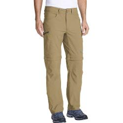 Eddie Bauer First Ascent Men's Guide Convertible Pant - 33 / 34 - Saddle