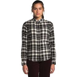 The North Face Women's Berkeley LS Girlfriend Shirt - Large - Vintage White Heritage Medium Two Color Plaid