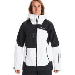 Marmot Men's Smokes Run Jacket - Large - White / Black