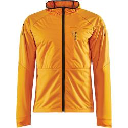 Craft Sportswear Men's ADV Warm Jacket - Small - Tiger / Black
