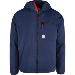 Topo Designs Men's Puffer Hoodie Jacket - Small - Navy