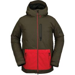 Volcom Men's Deadlystones Insulated Jacket - Large - Black Military