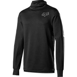 Fox Men's Defend Thermo Hooded Jersey - Small - Black